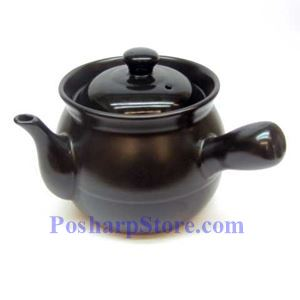 Picture of Black 2.5-Liter Chinese Herbal Medicine Sandpot