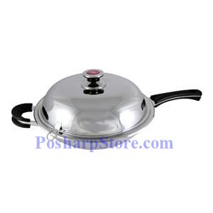 Picture of Pearl House 36CM Seven Layer Stainless Steel Wok
