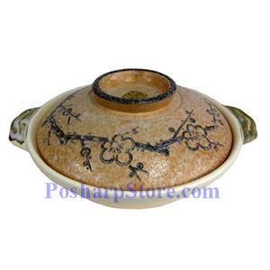 Picture of Khafu Japanese 10-Inch Japanese Earthen Casserole Pot