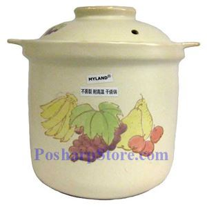 Picture of Myland KZ03 10 Inch High Earthenware Casserole