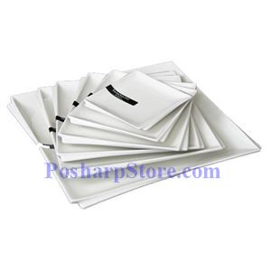 Picture of White Sallow Square Plate PHP-A001-50