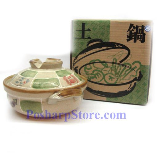 Picture for category CD6/F 7 Inch Round Covered Clay Pot/Bowel