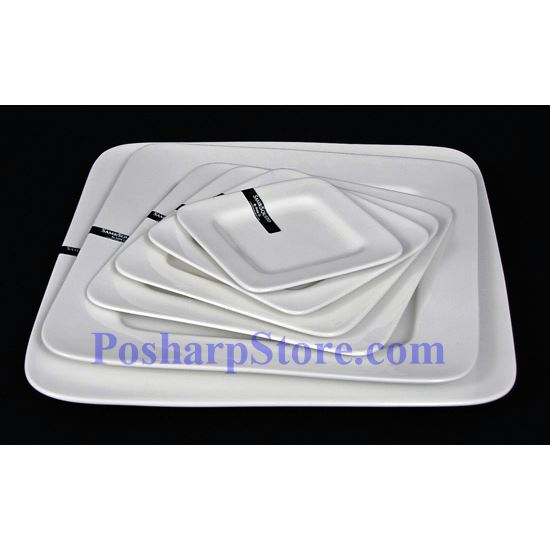Picture for category Round Edged Square Porcelain Plate PHP-A001