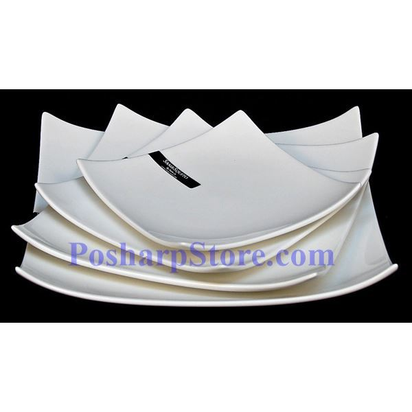 Picture for category White  Square Porcelain Plate PHP-A168