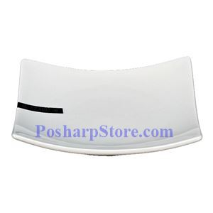 Picture of White  Square Porcelain Plate PHP-A1404