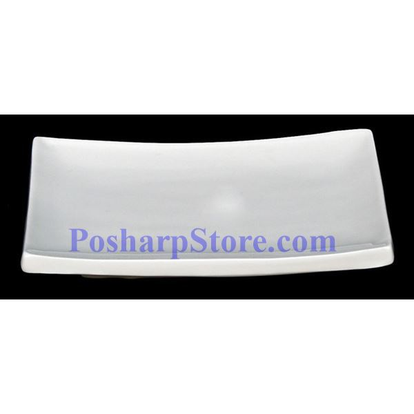 Picture for category White Edged Rectangle Porcelain Plate PHP-A2530