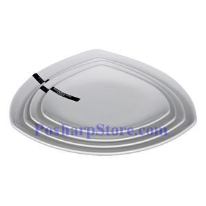 Picture of White Triangle Porcelain Bowl PHP-A052