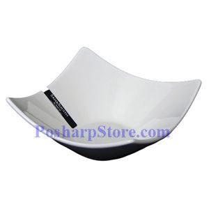 Picture of White Rhombus Porcelain Bowl PHP-B139