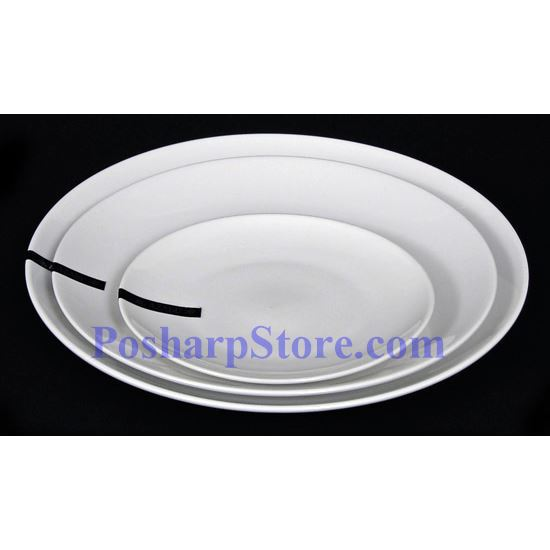 Picture for category White Round Porcelain Plate PHP-A0020