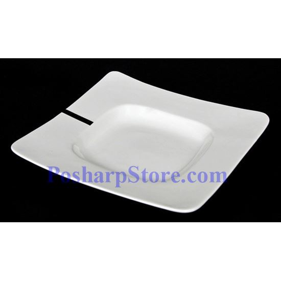 Picture for category White Wide Rimmed Square Porcelain Bowl PHP-A5914