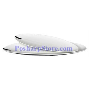 Picture of White Oval Porcelain Plate PHP-A2986