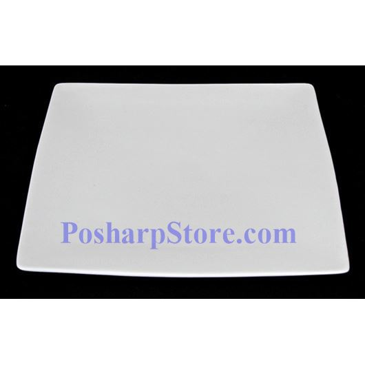 Picture for category White Flat Square Porcelain Plate PHP-A2836