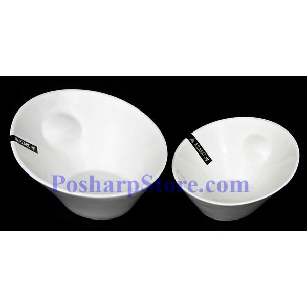Picture for category White Oval Fashion Porcelain Bowl PHP-A4308