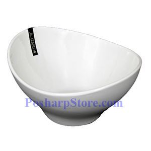 Picture of White Oval Fashion Porcelain Bowl PHP-A2982