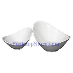 图片 椭圆形白色瓷碗 PHP-A5667