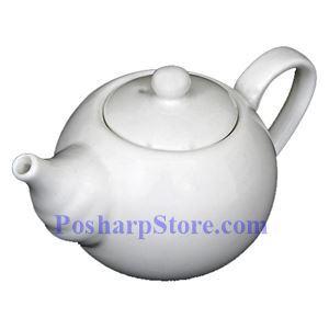 图片 传统白色瓷茶壶 PHP-A2468
