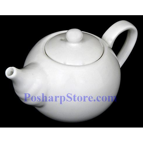 分类图片 传统白色瓷茶壶 PHP-A2468