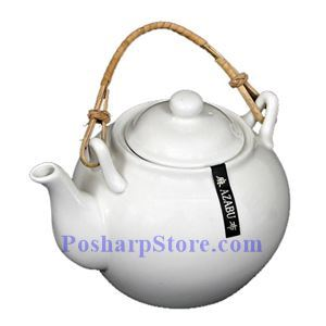 Picture of White Classic Porcelain Teapot PHP-A0216