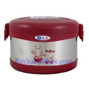 Picture of BuBee J-950EB Two Layer Stainless Steel Vacuum Meal Box