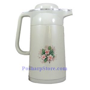 Picture of HappyLion 1 Liter Glass Vacuum Flask With Metal Body