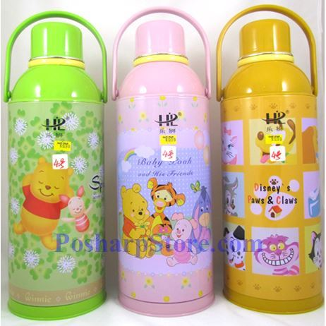 Picture for category HappyLion 1 Liter Glass Vacuum Flask With Cartoon Style