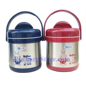 Picture of Bubee H-1500 1.5-Liter Two Layer High Stainless Steel Vacuum Pot
