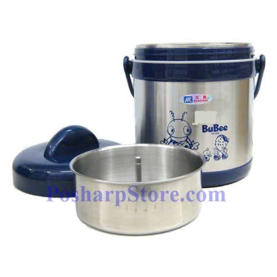 分类图片 佳用Bubee H-1500 1.5升二层高真空不锈钢保温保冷提锅