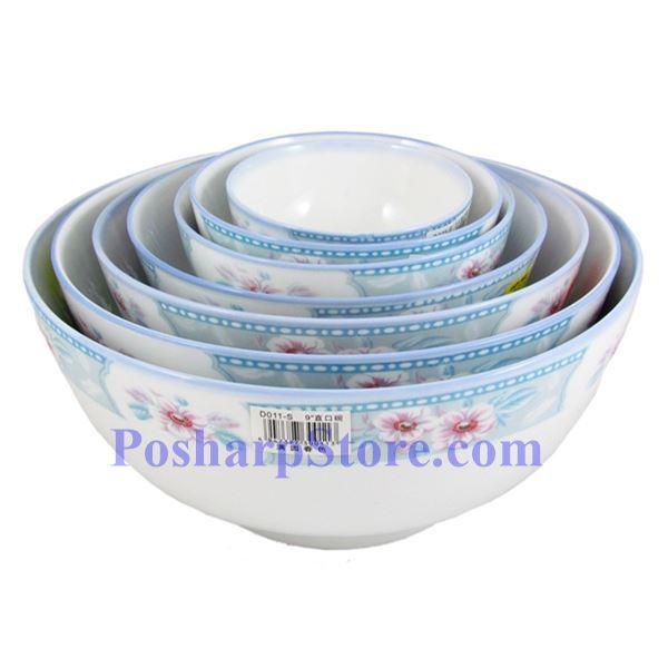 分类图片 皇品细瓷5吋满园春色直口碗