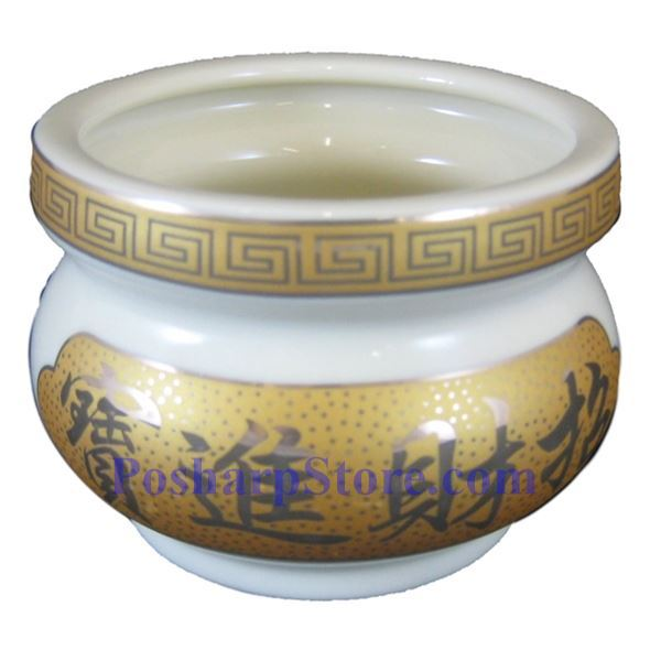Picture for category Chinese Good Fortune & Feast 4.5-Inch Ceramic Incense Burner