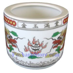 Picture of Good Fortune & Feast 4.5-Inch Incense Burning Mug
