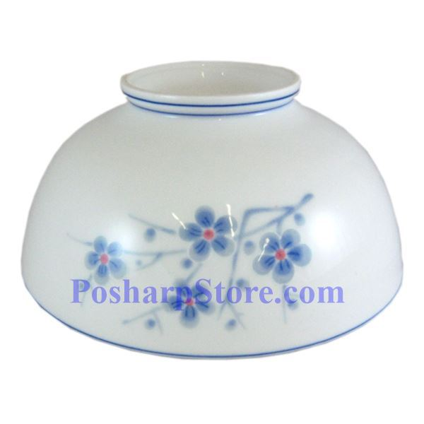 Picture for category Cheng's White Jade Porcelain 7-Inch Blue Plum Blossom Bowl