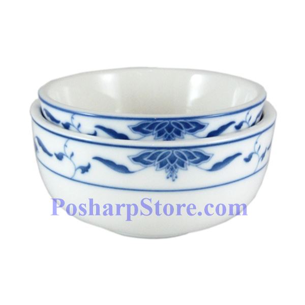 Picture for category CAC Durable China Blue Lotus 4.5-Inch Jung Bowl