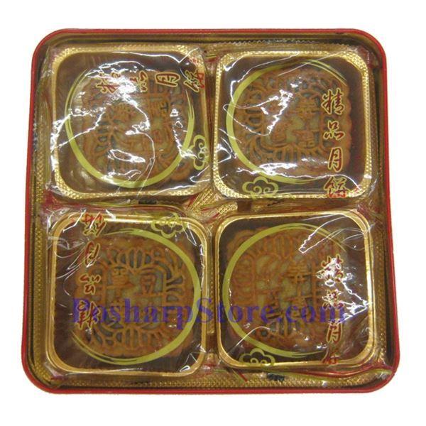 分类图片 香江亭单黄红豆蓉月饼