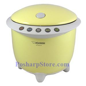 Picture of Zojirushi NS-XBC05YR 3-Cup Rizo Micom Rice Cooker and Warmer, Yellow