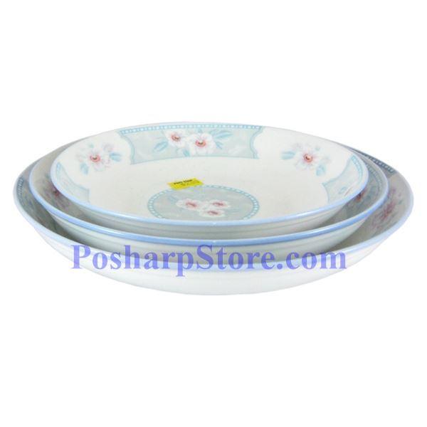 分类图片 皇品细瓷8吋满园春色饭盘