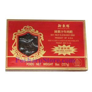 图片 新东阳辣味果汁牛肉干 170克