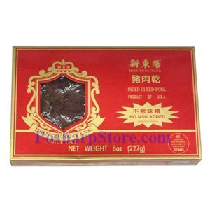 Picture of Hsin Tung Yang Dried Cured Pork Jerky 6Oz