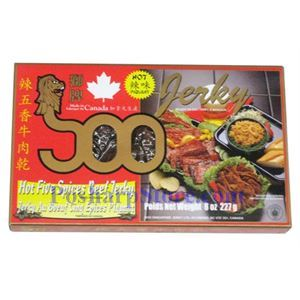 Picture of Soo Hot Five Spices Beef Jerky6(OZ)