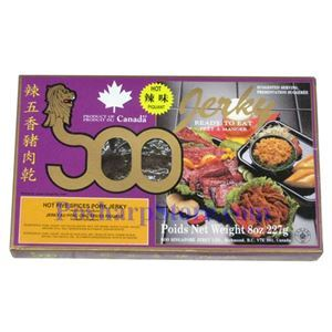 Picture of Soo Hot Five Spices Pork Jerky6(OZ)