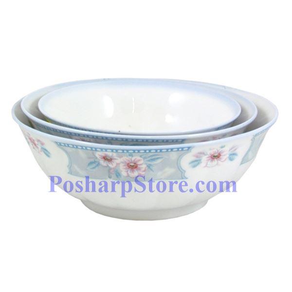 分类图片 满园春色7吋波面反口瓷碗