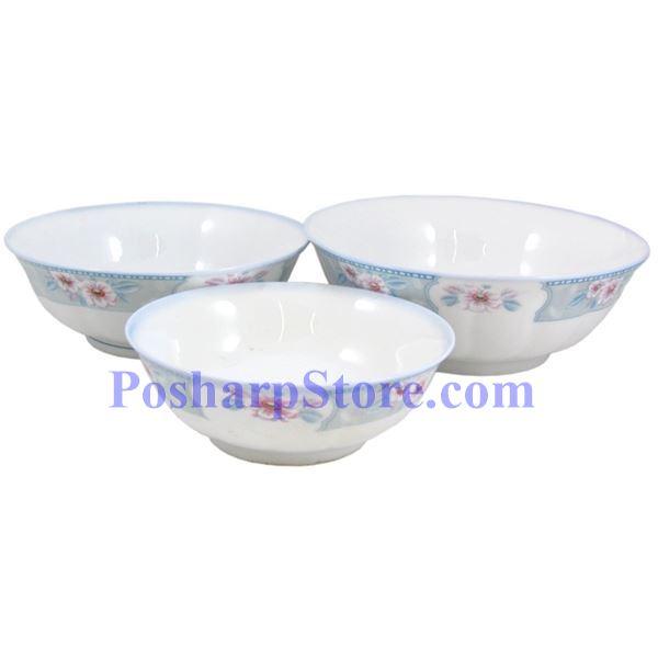 分类图片 满园春色6吋波面反口瓷碗