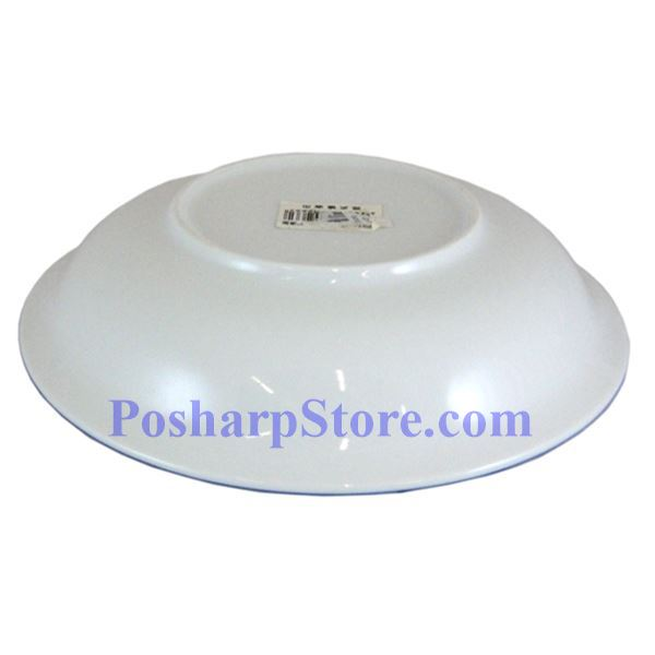 Picture for category Cheng's White Jade Porcelain 7-Inch Rake Wave Peony Soup Plate
