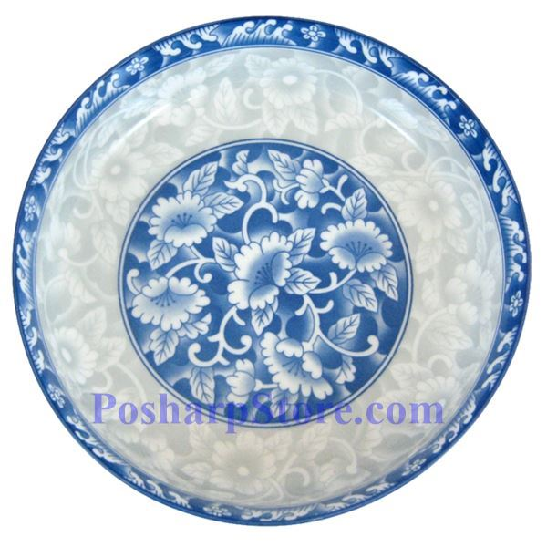 Picture for category Cheng's 8-Inch Rake Wave Peony Deep Bottom Soup Plate