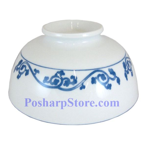 Picture for category Cheng's White Jade Porcelain 7-Inch Rake Wave Peony Soup Bowl