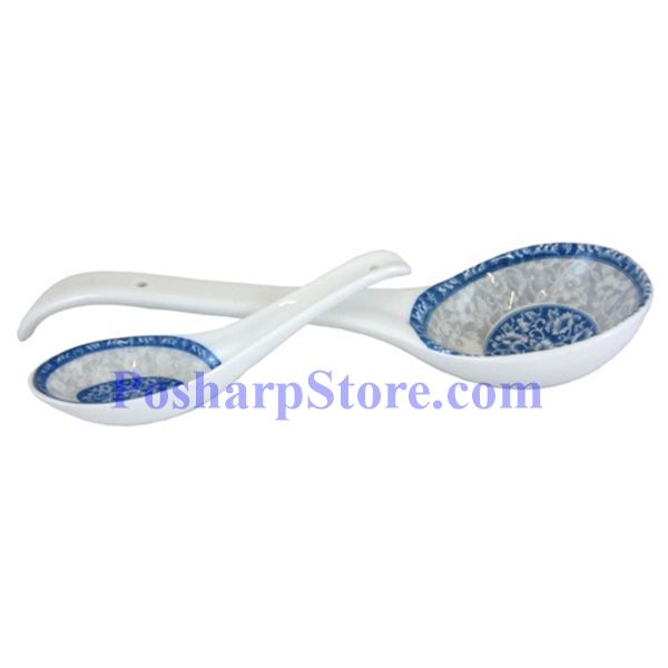 Picture for category Cheng's White Jade Porcelain Rake Wave Peony Soup Spoon