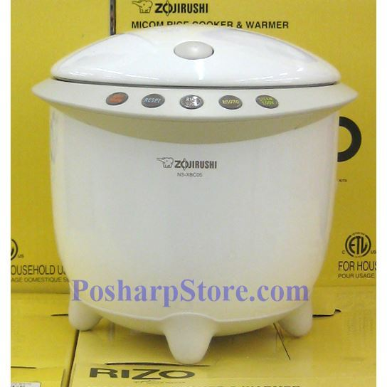 Picture for category Zojirushi NS-XBC05WR 3-Cup Rizo Micom Rice Cooker, White