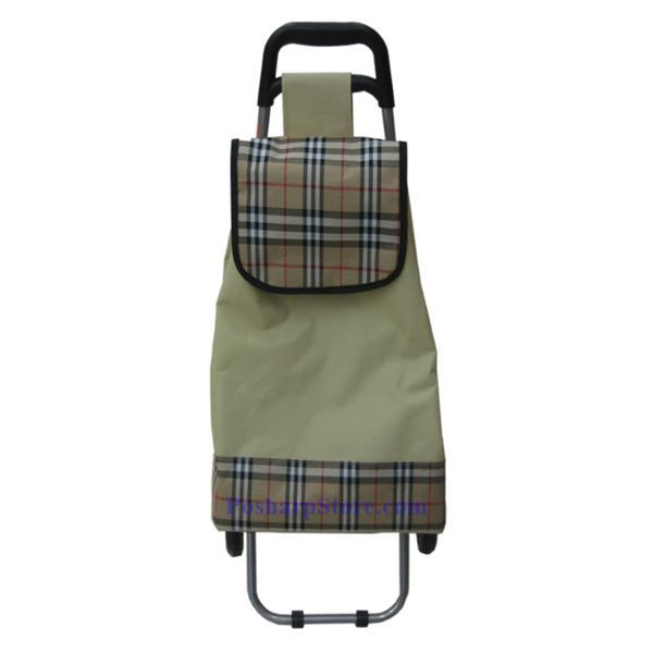 Picture for category Canvas Folding Shopping Cart with Mung Bean Color