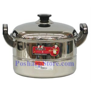 Picture of Zhenneng 12 Inch One-Plate Stainless Steel Steamer Pot