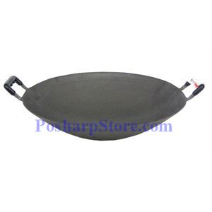 "Picture of 14"" Double Ear Iron Wok"