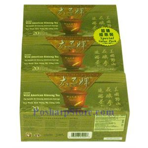 Picture of Prince of Peace® Wild American Ginseng Instant Tea, Special Value Pack